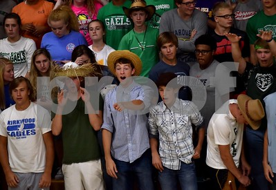 Clarion-Goldfield/Dow @ St. Edmond Volleyball