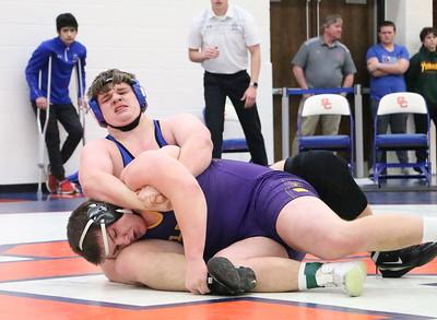 BHRV sectional wrestling 2-2-19