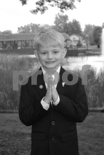 Luke's Communion Pics.