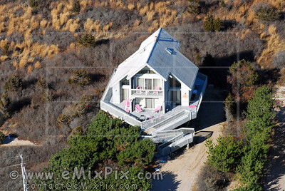 Charlestown RI house aerial photo