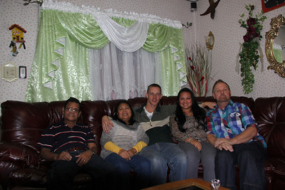Thanksgiving with Family, Gay St, Tamaqua (11-22-2012)