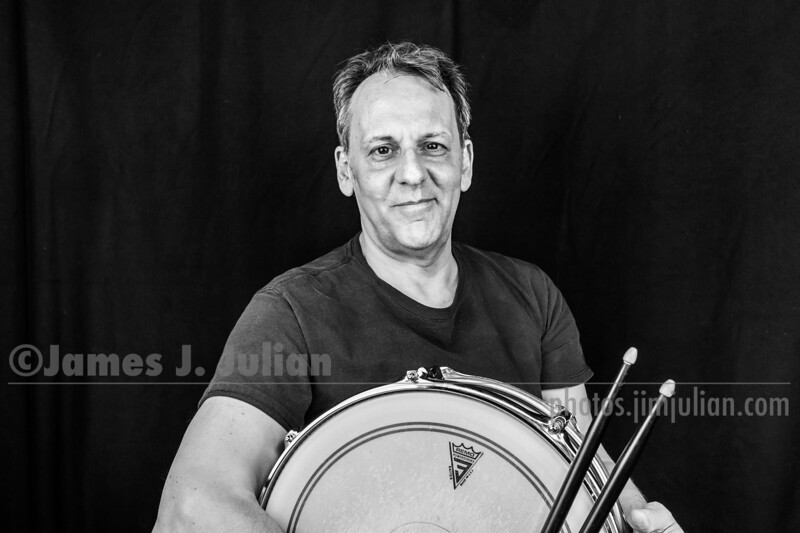 Jim Julian Drummer 3 BW