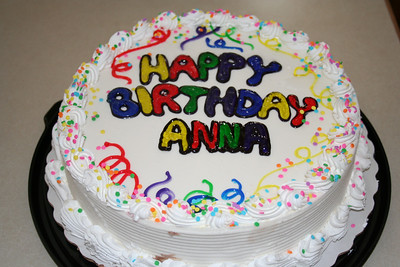 Anna's 18th Birthday