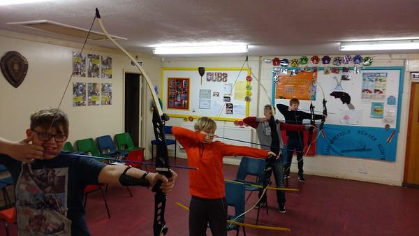 SCOUTS: Archery