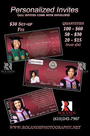 2012-2013 Meharry Senior Portraits