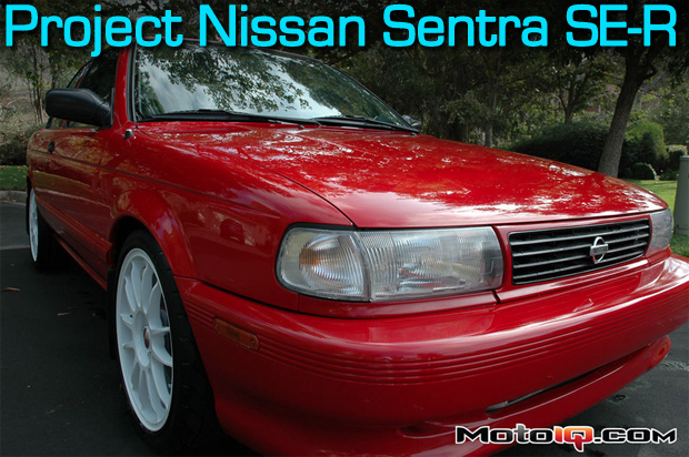 Nissan Sentra SE-R- Turbo SR20 Final Build Items