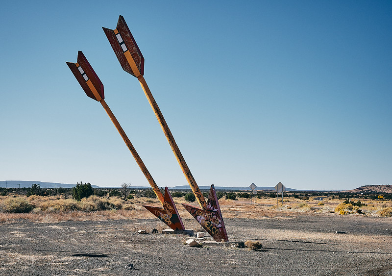 Route 66 - Twin Arrows Trading post, Flagstaff, Arizona