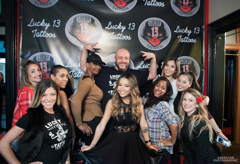 Lucky 13 Tattoo Parlour Grand Opening