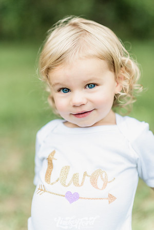 Nora's 2 Year Photos