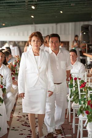 Albaluica and Carlos's Wedding