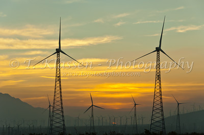 Windfarms, California