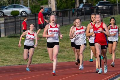 MHS Girls Track vs Burlington 25MAY21