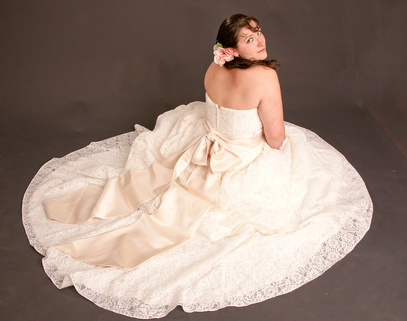 Alex and her Wedding Gown