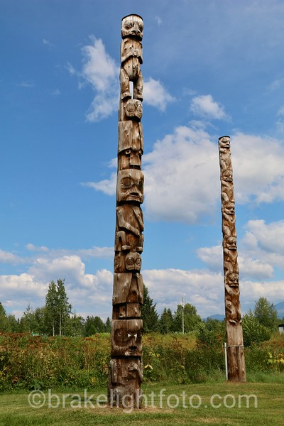 Kispiox Totem Poles