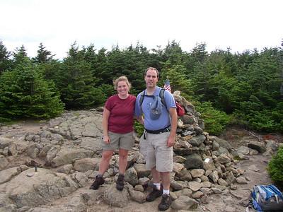 Jackson and Pierce Appalachian Trail hike: Aug 14