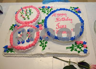 June Langford's 80th Birthday