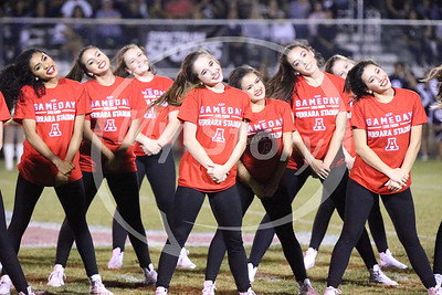 Dance Team at Central Game 2016