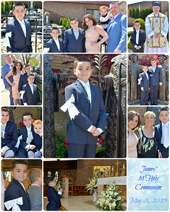 James' Communion 2015