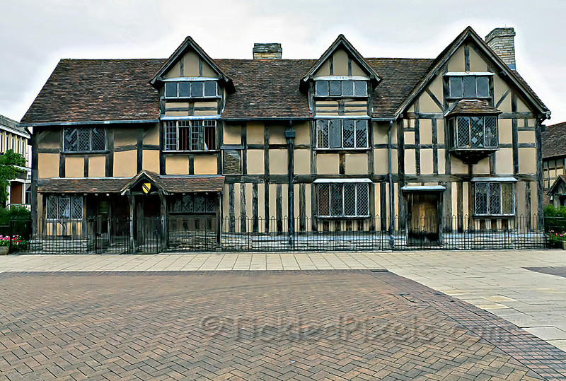 Shakespeare's Birthplace - Stratford-upon-Avon, Warwickshire, England