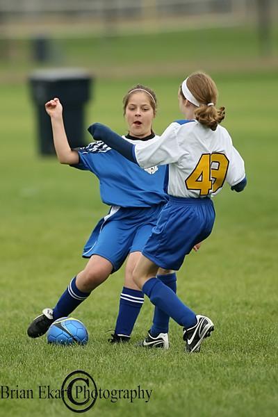 U11 Girls Soccer - SA vs Centennial 5.27.10