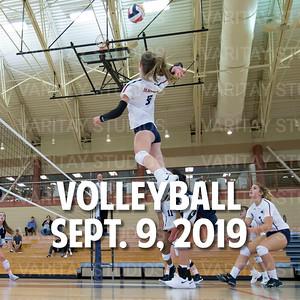 Prairie Volleyball, Sept. 9, 2019