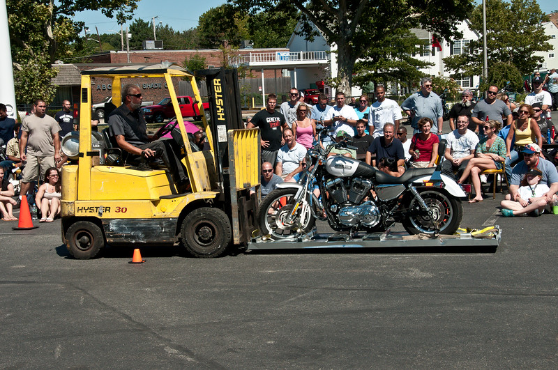 One Way to Reset the Harley Drag