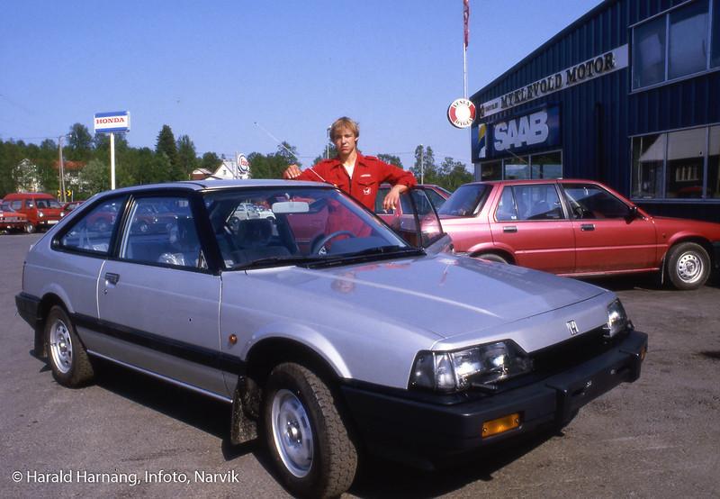 Ballangen kommune feiret jubileum, og Infoto tok en del bilder til kommunen. Ben Myklevold jobbet i sin fars bilforretning.