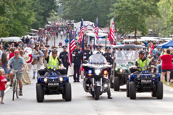 Peachtree City 2012 Fourth of July Parade