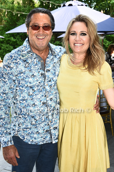 Larry Wohl and Leesa Rowland attend the Catwalk for Canines ethical & eco fashion show to benefit the Southampton Animal foundation at the Southampton Social Club in Southampton on Saturday, June 10, 2017.