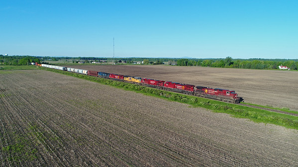 Canadian Pacific 253, Lacolle, Quebec, June 9 2017.