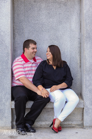 Chad & Ashley's Engagement Session :: NC State University :: AO&JO Photography (Raleigh Wedding Photography)