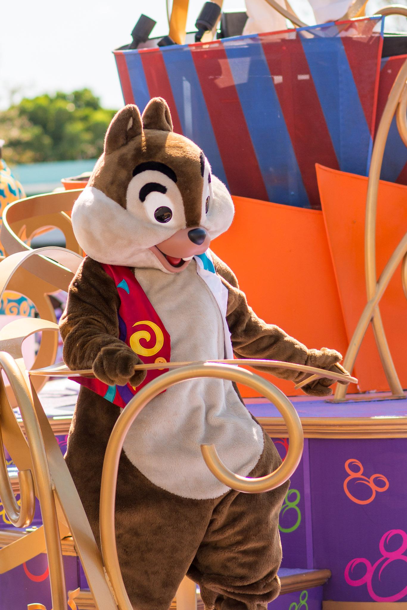 Chip - Walt Disney World Magic Kingdom