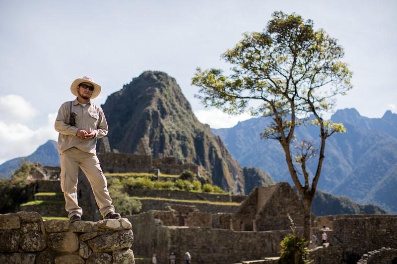 Machu Picchu Caretaker