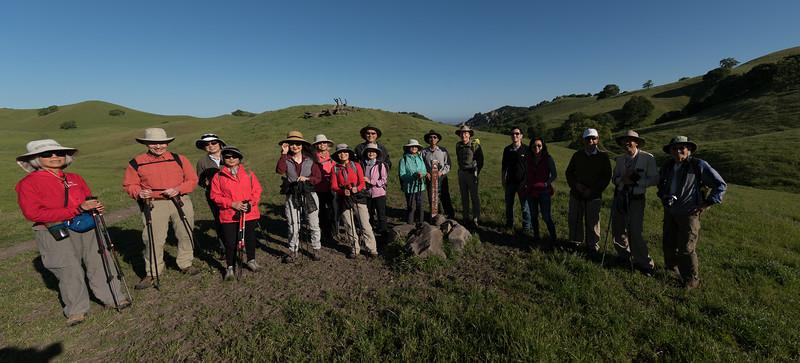Hiking in Mt. Diablo, Mercado Ranch