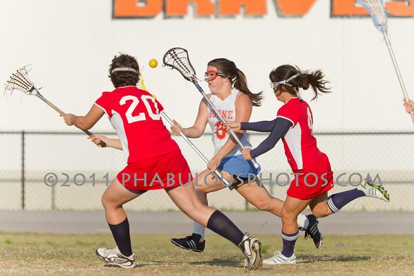 Freedom @ Boone Girls JV Lacrosse - 2011