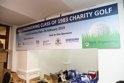NUS Engineering Class Of 1983 Charity Golf
