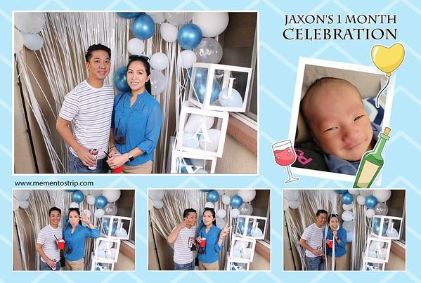 Jaxon's 1 month Celebration