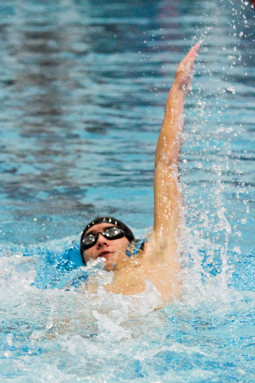 . Barry Booher - The News-Herald Kyle Silver ( Riverside ) 200 yard IM.