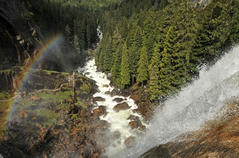 Vernal Fall in Yosemite Valley
