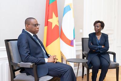 SEM André-Magnus EKOUMOU - Ambassadeur du Cameroun - Paris
