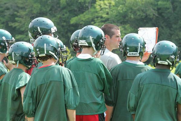 WUHS Football Pre-Season Practice
