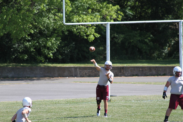 WWHS SCRIMMAGE AT BLUEFIELD