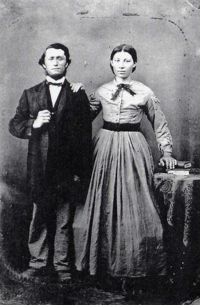 George Frederick and Ernstina (Eisentraut) Steurerwald
