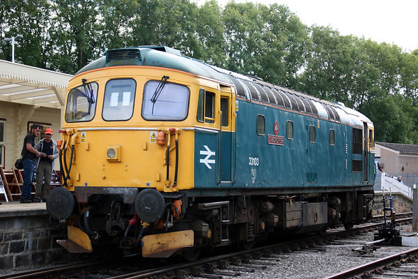 Ecclesbourne Valley Railway Diesel Gala, 13th August 2017