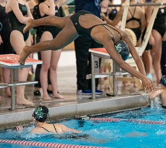 Winter 2020:  Girls Swim at ISL Championship