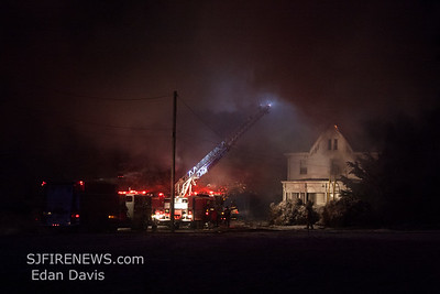 12/15/2017, 3 Alarm Dwelling, Lawrence Twp. Cumberland County NJ, 589 Sayres Neck Rd.