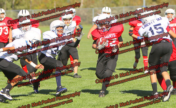 Patriots vs Giants 9-16-2012