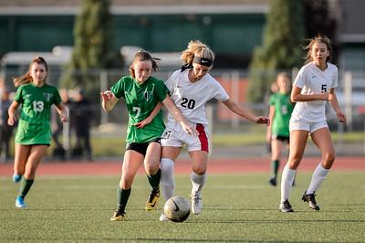 Tigard HS Girls JV Soccer vs Tualatin