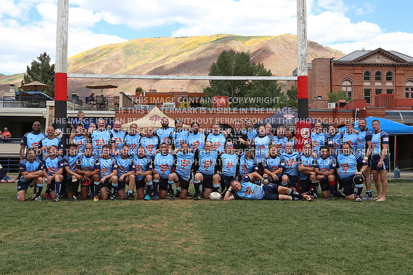 2018 Over 45's Division Dark & Stormy Misfits Rugby Men Ruggerfest 51