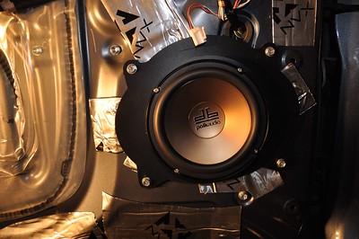 2009 Toyota Tundra Double Cab SR5 Non JBL Front Door Speaker Installation - USA